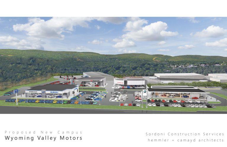 Wyoming Valley Motors >> Wyoming Valley Motors Makes Its Move Sordoni Construction